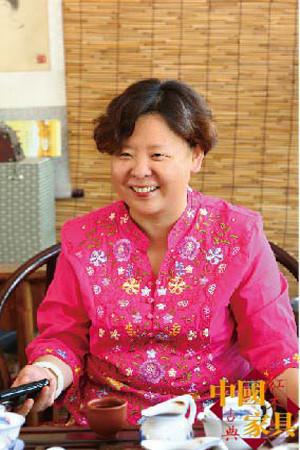 千亿娱乐城qy996_茶艺也是杨燕的爱好之一