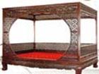 红酸枝架子床