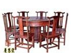 老挝红酸枝圆桌